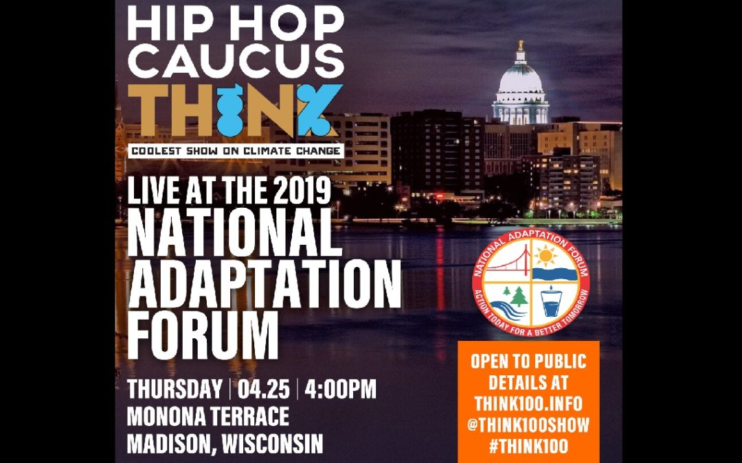 JOIN US LIVE: 2019 National Adaptation Forum in Madison, WI – April 25, 2019